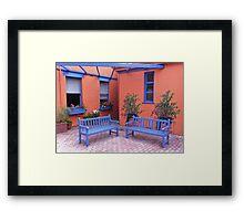Collegiate Corner Framed Print