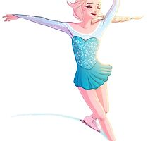 Figure Skater Elsa by radissonclaire