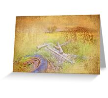 My First Textured Image Greeting Card