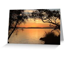 Super Sunset at Magical Myall Greeting Card