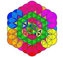 Flower of Life Design by Sorage55