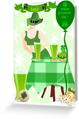 St.Patrick's Day Card ( 803  Views) by aldona