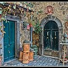 Bolsena Potter Shop   Italy by Warren. A. Williams