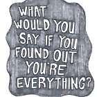 Grey Quote Splat by rbx11