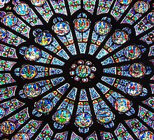 A feast for the eyes! Notre-Dame Paris, North Rose (1) - click to enlarge by bubblehex08
