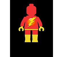 Lightning Minifig Photographic Print
