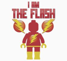 'I am The Flash' Minifig [Large] by Customize My Minifig by ChilleeW