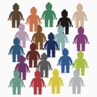 United Colors of Minifig [Large]  by ChilleeW