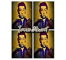 James Stewart Grid Photographic Print