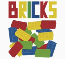 Colored Bricks [Large] by Customize My Minifig by Customize My Minifig