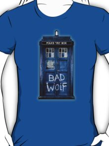 Space And Time traveller Wolf T-Shirt