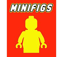 MINIFIGS Photographic Print