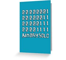 The Flight of the Conchords - Binary Solo - Robots Greeting Card
