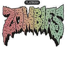 Fatbush Zombies Logo by ALLCAPS