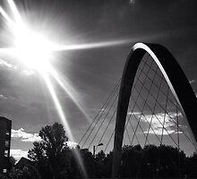 Hulme bridge, Manchester UK   by Michaelocm3