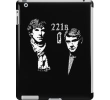 221B Punch me iPad Case/Skin