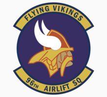 96th Airlift Squadron - Flying Vikings by VeteranGraphics