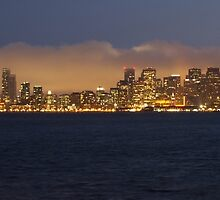 San Francisco skyline  by modernistdesign