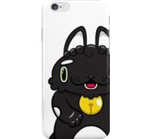 LUCKEECAT Black and White Litter iPhone Case/Skin