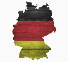 Germany Flag Map by Nhan Ngo