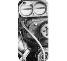 Top Fuel in Black and White iPhone Case/Skin