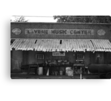 LaVene Music Center / Red's Blues Club Canvas Print