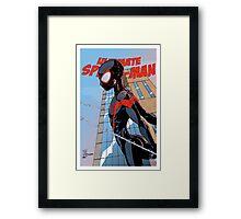 Ultimate Spider-Man Variant Edition Framed Print