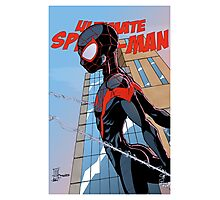 Ultimate Spider-Man Variant Edition Photographic Print