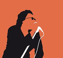 No033 MY INXS Minimal Music poster by Chungkong