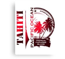 TAHITI Summer Island Canvas Print