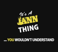 It's A JANN thing, you wouldn't understand !! by satro