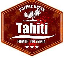 TAHITI Summer Beach by dejava