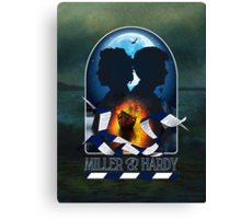 MILLER & HARDY - 2013 Canvas Print