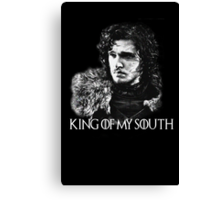 King of my south Canvas Print