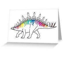 Stegodrawus Greeting Card