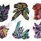 6 Crystals by Emma  Black