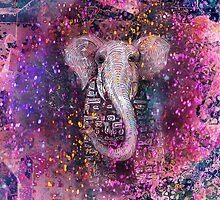 elephant magic by Marianna Tankelevich