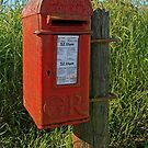 Country Post Box by RedHillDigital