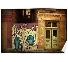 Hidden Door, Boarded Window Poster