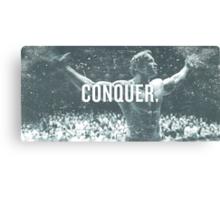Conquer Faded. Canvas Print