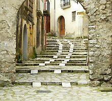 """""""PORTA DEI SANTI"""", Medieval town Mercogliano, Province of Avellino, Campania, Italy by Rachel Veser"""