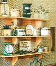 Country Kitchen Sunshne I by RC deWinter