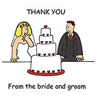 Thank you from the bride and groom. by KateTaylor