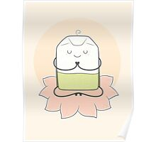 very zen green tea Poster