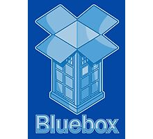 Bluebox Photographic Print