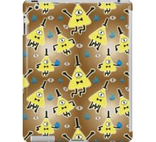Bill Cipher Everywhere - pattern iPad Case/Skin
