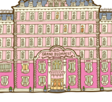 The Grand Budapest Hotel Sticker