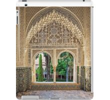 Daraxa's Mirador, Nasrid Palaces, The Alhambra, Granada, Spain iPad Case/Skin