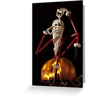 The Pumpkin King Greeting Card