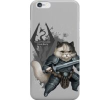 Khajiit Got Your Back iPhone Case/Skin